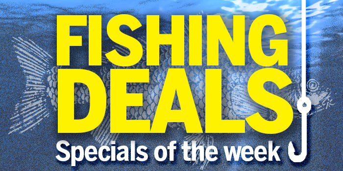 Current Fishing Deals – See Below
