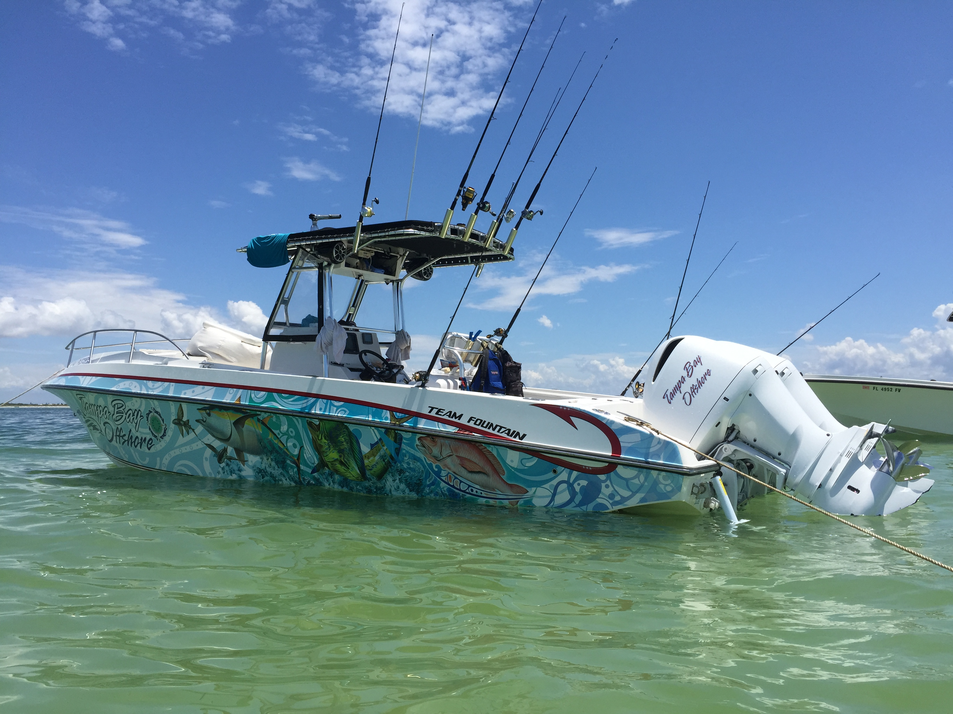 Contact tampa bay offshore fishing charters for Offshore fishing boats
