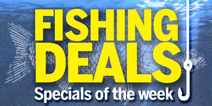 Current Fishing Deals – See Below