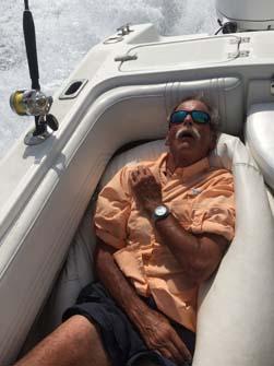 sleepy fisherman